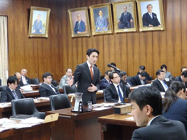原子力問題特別委員会で質問。新規制基準の見直しを求めました。その後、長野と新潟の戦争法廃止署名の提出行動へ!頑張りましょう!!