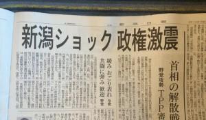 新潟県知事選挙と同時に、長岡市長選挙でも勝利!原発再稼働NOの民意は明らか!!