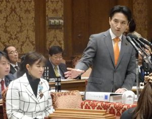 共謀罪について予算委員会で質問。国会提出阻止へ、たたかいを広げよう!!