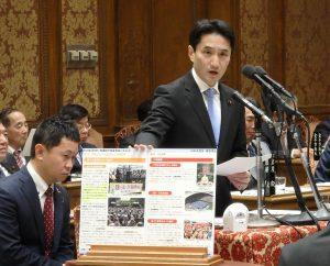 予算委員会で共謀罪について質問。提出するなと総理に迫りました!