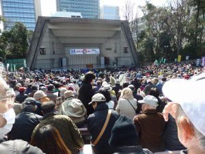 原発ゼロの未来へ 福島とともに3・4全国大集会に参加。吉良、いわぶち両参院議員とパレード!頑張りましょう!!