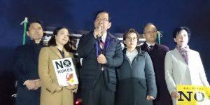 3・11から6年。国会前集会に参加!原発ゼロの日本へ、ともに頑張りましょう!!