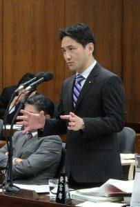 法務委員会で共謀罪について質問!「テロ」の定義めぐり金田大臣の答弁はますます混迷。