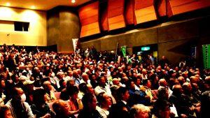新潟6区の野党統一候補・うめたに守さん(無所属)の必勝めざす総決起集会で挨拶