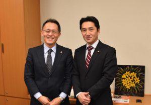 ICANの国際運営委員、川崎哲さんと懇談