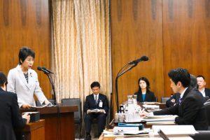衆院法務委で入管収容の問題を質問しました