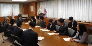 党国会議員団福島チームとして経産省の磯崎副大臣に申し入れ