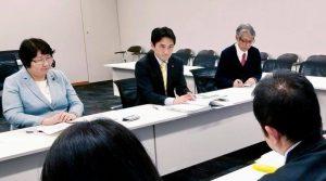 三重県のシャープ亀山工場を雇い止めにされた労働者問題について厚労省レク