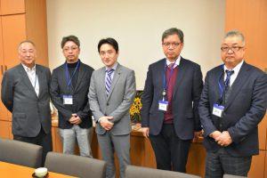 新潟県新津や五泉市の中小業者の皆さんが事務所に来て下さいました