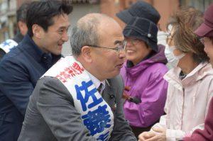 今日は石川県金沢市内で街宣