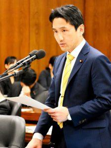 法務委員会で民事執行法案の質疑