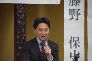 衆院本会議を終えて石川県小松市へ。