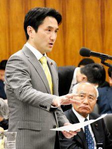 原子力特別委員会で参考人質疑