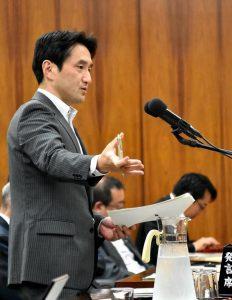 原子力特別委で質問