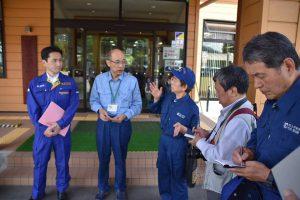 新潟県村上市で地震の影響調査