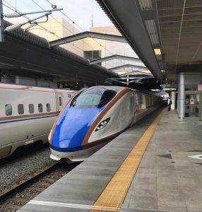 今日は富山県と長野県を往復