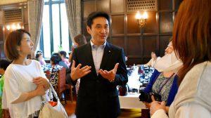 新潟県各地の業者婦人の皆さんが国会見学へ