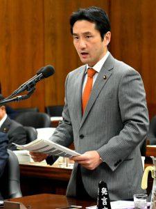 法務委員会で長崎県大村入管収容所での「飢餓死」事件について質問