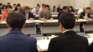 移住者と連帯する全国ネットワークの省庁交渉に同席
