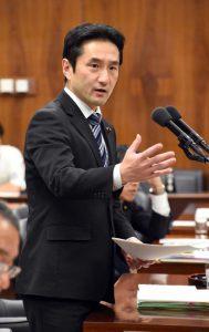 法務委員会で「桜を見る会」について質問