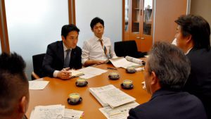 台風被害を受けた長野市のリンゴ生産組合の皆さんの要請について農水省等からレクチャー