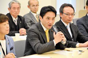 富山県地方議員団による政府交渉