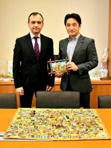 ウズベキスタン共和国大使と懇談