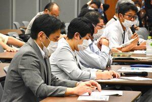 福島県農民連の東電第一原発事故被害に関する申し入れに同席