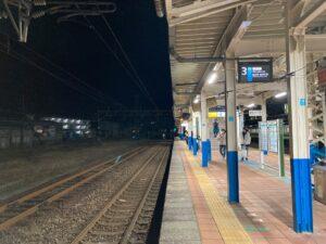 夜の柏崎駅
