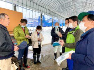 富山県 大雪被害調査