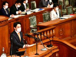 衆院本会議 少年法改正案について代表質問