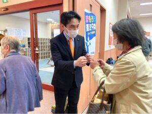 長野県松川村 参院補選必勝めざす決起集会
