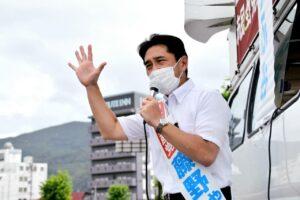 総選挙比例躍進!長野県キャラバン3日目
