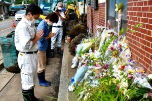 長野県岡谷市 豪雨災害の現地調査